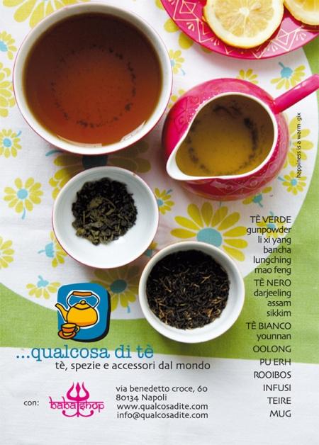 Qualcosa di tè • il primo tè shop partenopeo